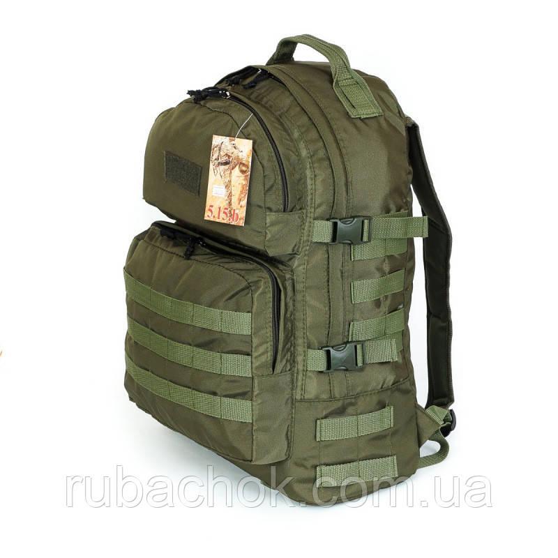 Тактический походный супер-крепкий рюкзак на 40 литров афган