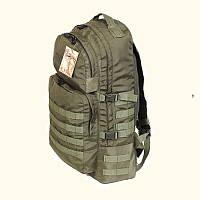 Тактический армейский туристический супер-крепкий рюкзак 60 литров афган, фото 1