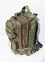 Тактический штурмовой армейский супер-крепкий рюкзак на 25 литров афган., фото 1