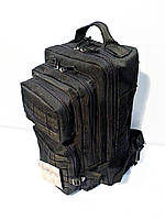 Тактичний, штурмової крепеий рюкзак 25 літрів чорний, фото 1