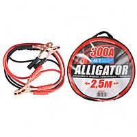 Пусковой кабель CarLife Alligator 300A BC632