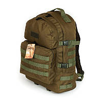 Військовий, тактичний рюкзак 40 літрів койот, фото 1