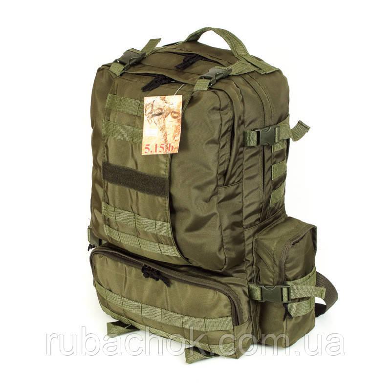Тактический походный армейский супер-крепкий рюкзак 50 литров афган