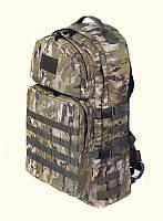 Тактичний військовий туристичний супер-міцний рюкзак 60 літрів мультикам, фото 1