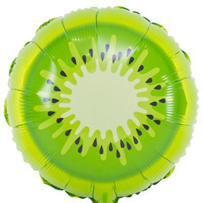 Фольгированный шар Киви 45см