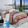 Набор постельного белья Евростандарт из поплина КАТМАНДУ (200*220)