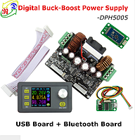 Преобразователь напряжения повышающий понижающий DPH5005 0-50V; 5 A; 160 Вт. с Bluetooth платой