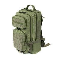 Тактический штурмовой армейский супер-крепкий рюкзак на 25 литров олива, фото 1