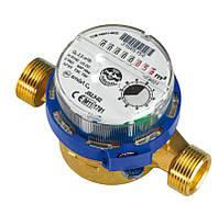 Одноструйные счетчики воды серии SMART (антимагнитная защита) JS-1,0 Dn 15 ХВ