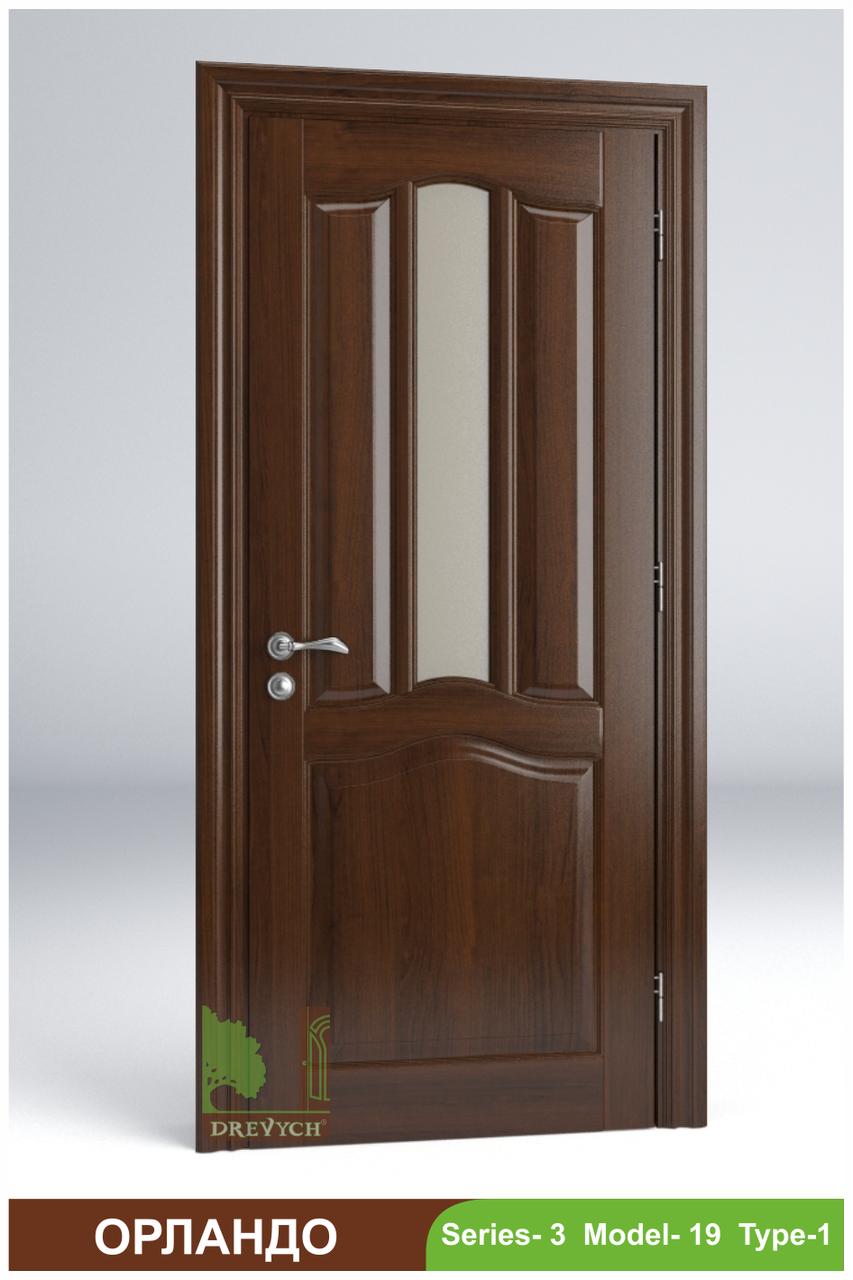 Міжкімнатні двері з масиву дерева Орландо