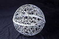 Шар декоративный из фибергласса, диаметром 0,45 м