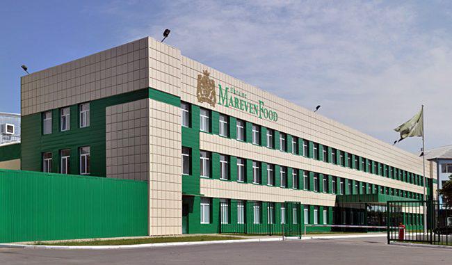 Завод Mareven Food Ukraine в Белой Церкви (производство продукции торговой марки Роллтон)
