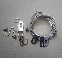 Тросики ELMAR для крепления светодиодной панели.