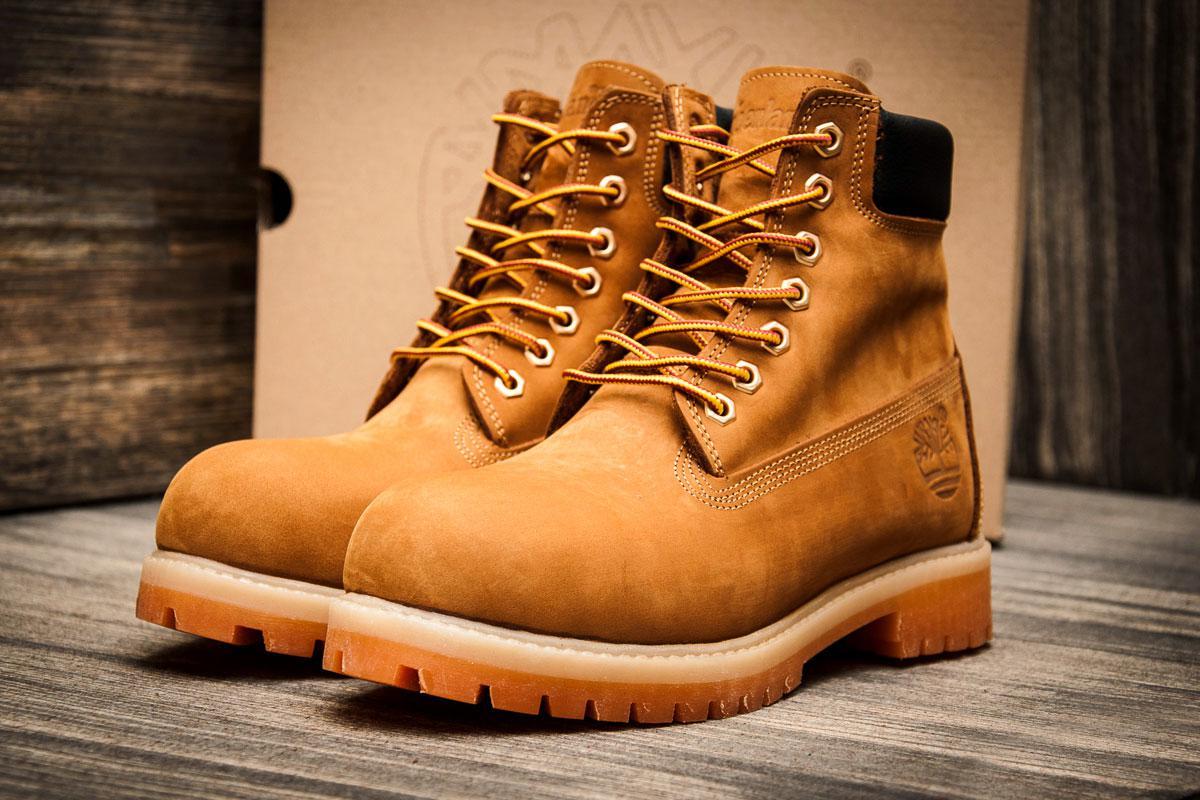 Ботинки мужские Timberland 6 premium boot, песочные (3194-1),  [   41