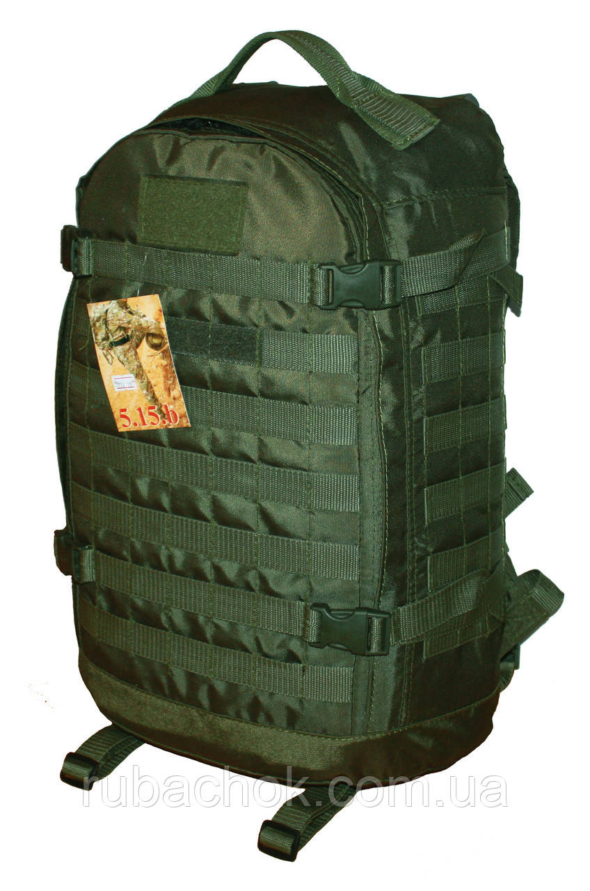Тактичний, штурмової супер-міцний рюкзак 32 літрів олива 1200 ден