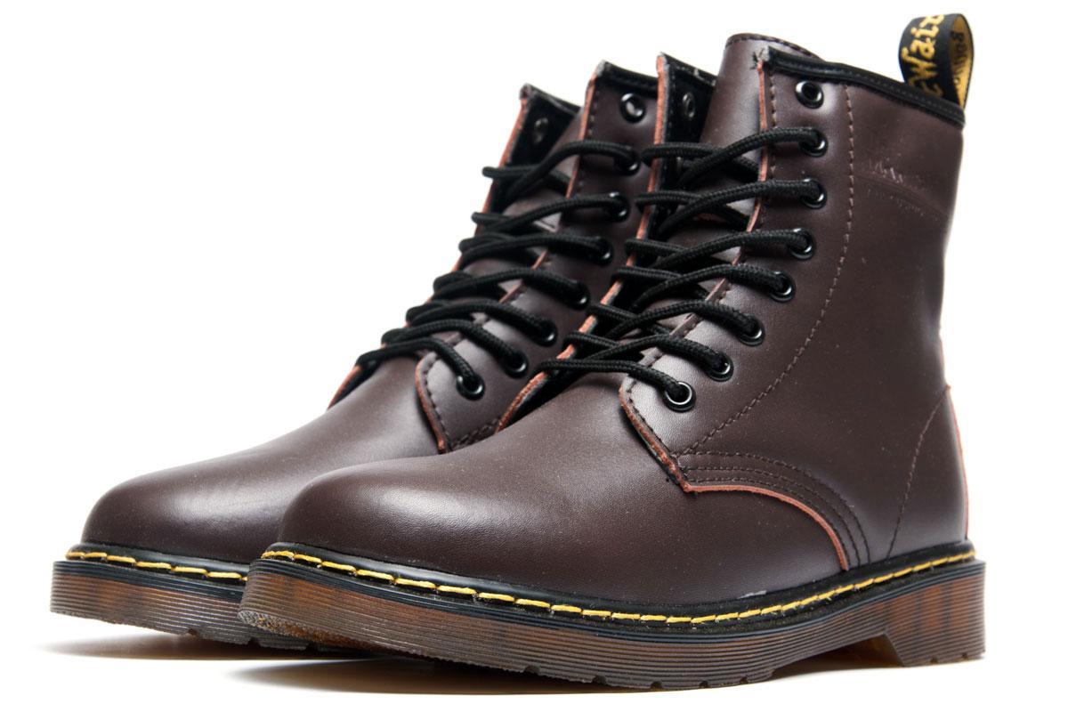 Ботинки женские Dr. Martens, коричневые (3197-1),  [   36 37 38 43  ]