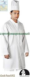 Захисний халат чоловічий LH-FOOD+CME W