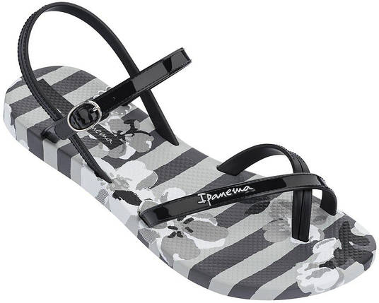 Оригинал Сандалии женские 82291-21869 Ipanema Fashion Sand V Grey/Black, фото 2