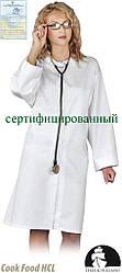 Захисний халат жіночий LH-FOOD+CWO W