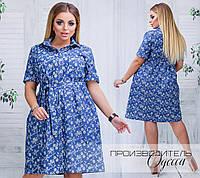 Джинсовое платье Жанна, фото 1