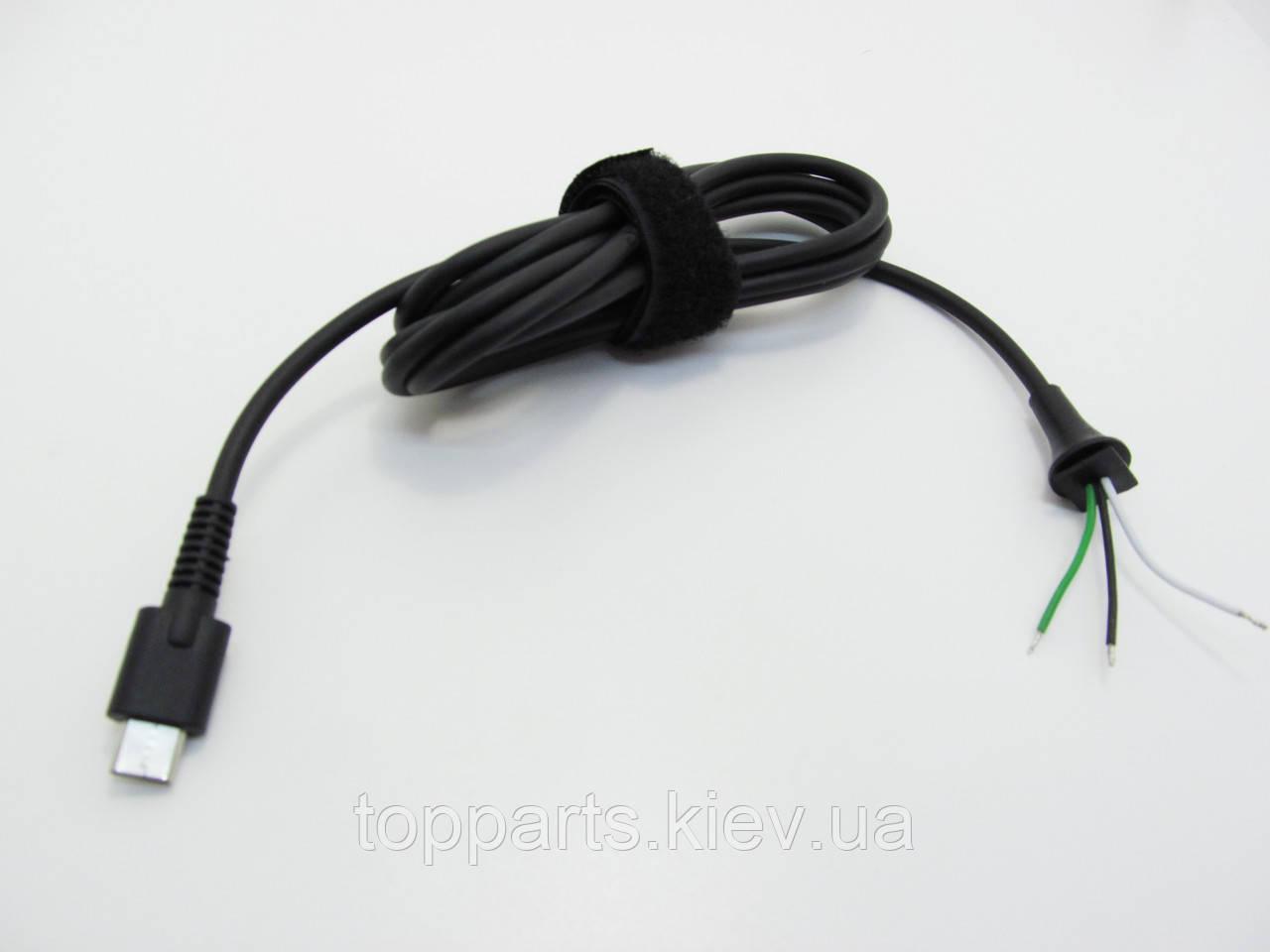 Кабель питания DC для ноутбуков Asus (разъем USB Type-C black)