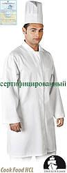 Защитный халат мужской LH-FOOD_CME W