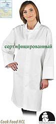 Захисний халат жіночий LH-FOOD_CWO W