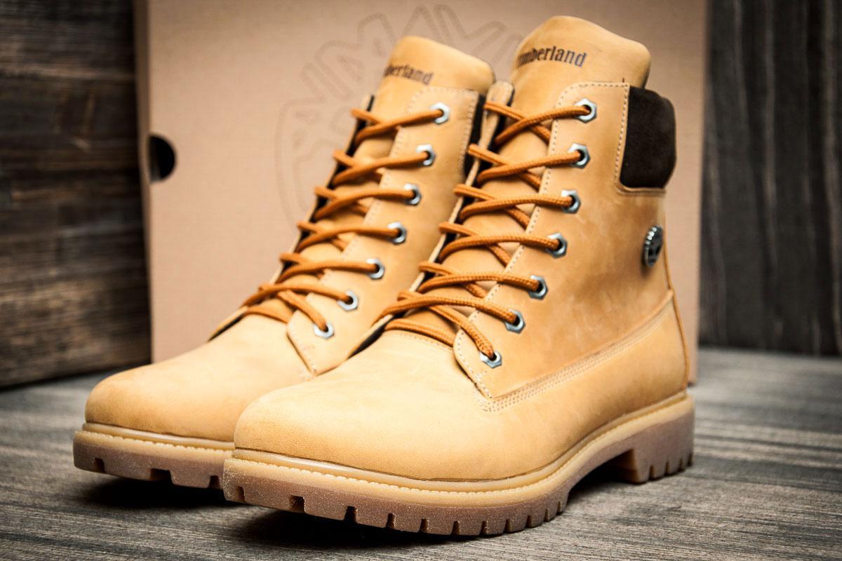 Ботинки мужские Timberland 6 premium boot, песочные (3837-3),  [   40
