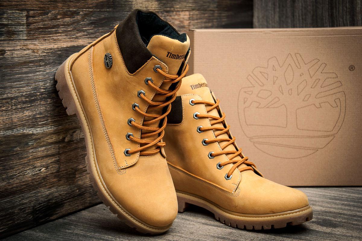 ... Зимние ботинки Timberland 6 premium boot, песочные (3837-3),   40 ... bec38a6566a