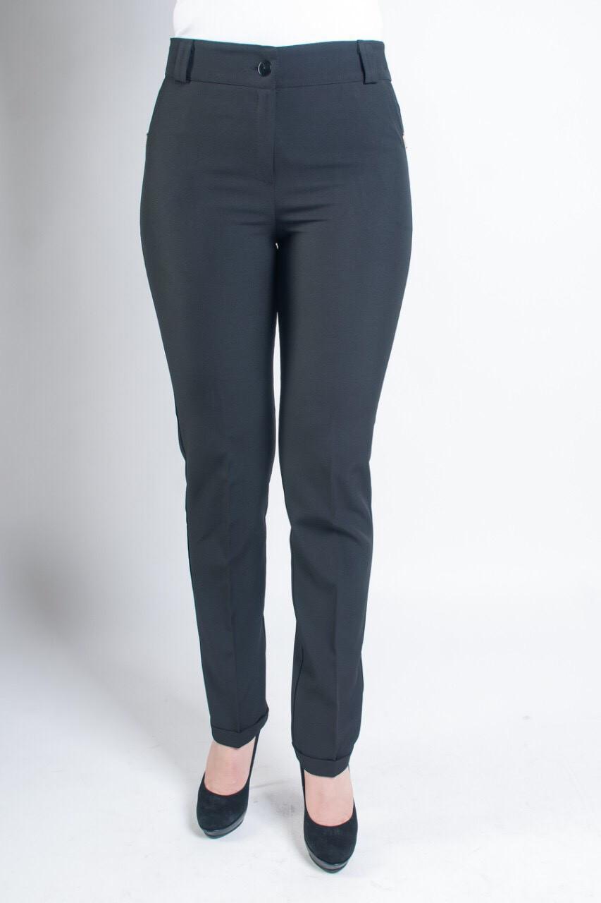 Модные женские брюки Адрианна черного цвета