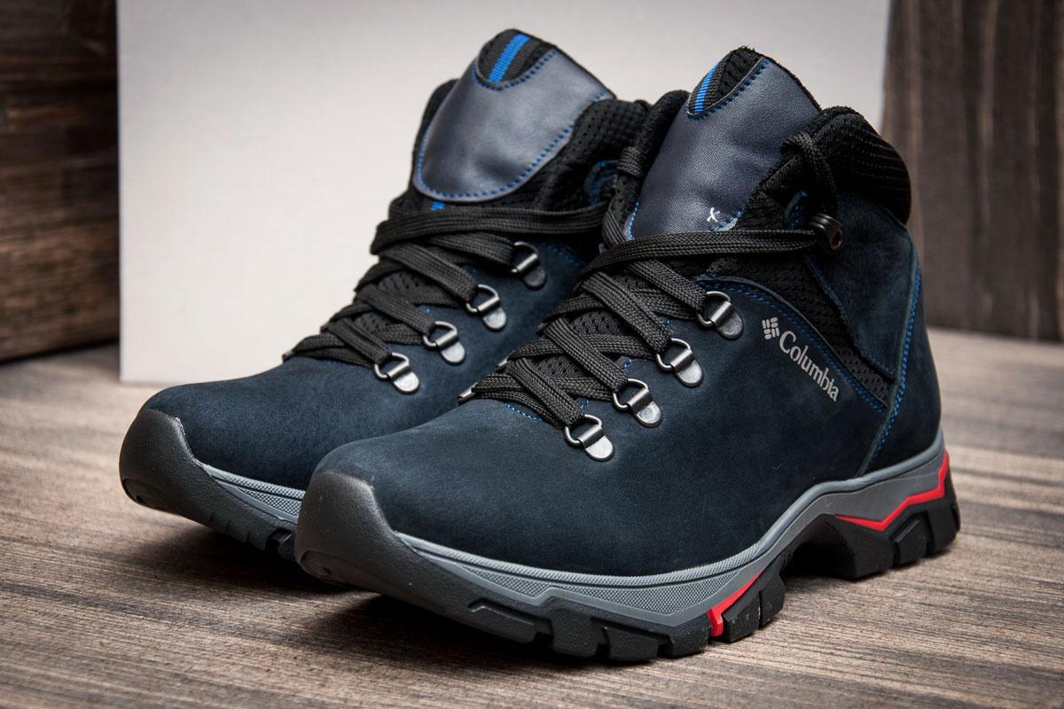 Ботинки мужские Columbia, темно-синие (3845),  [  40  ]