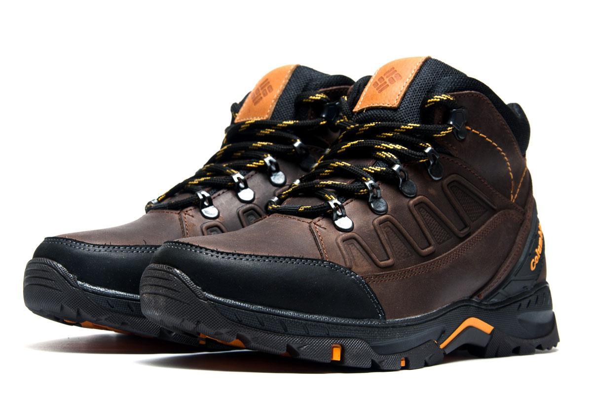 Ботинки мужские Columbia TRACK, коричневые (3913-4),  [   40  ]