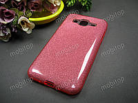 Чехол SMX Fashion Samsung J320 Galaxy J3 2016 (розовый), фото 1