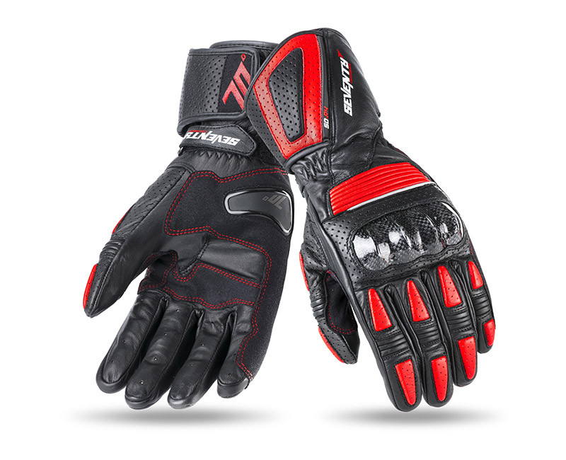 Мотоперчатки Seventy SD-R4 Red L