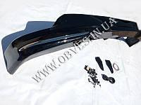 Накладка переднего бампера (юбка) Toyota Land Cruiser 200, фото 1