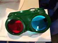 """Очки красно-синие для пограмм """"Ай"""" """"Клинок"""" """"Чибис"""" """"Крестик"""" """"Паучок"""""""