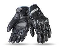 Мотоперчатки SEVENTY SD-N32 SUMMER NAKED MAN BLACK/GREY