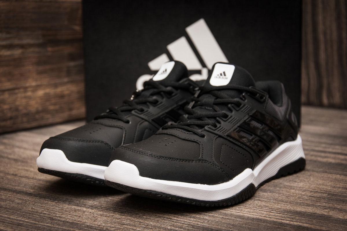Кроссовки мужские в стиле Adidas Duramo 8 Trainer, черные (7066),  [