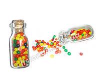 Орбиз 150 шт. в стеклянной бутылочке Шарики орбизы растущие в воде,  гидрогель, Orbeez, аквагрунт, фото 1