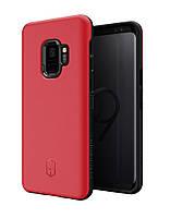 Чехол Patchworks LEVEL ITG для Samsung Galaxy S9, красный