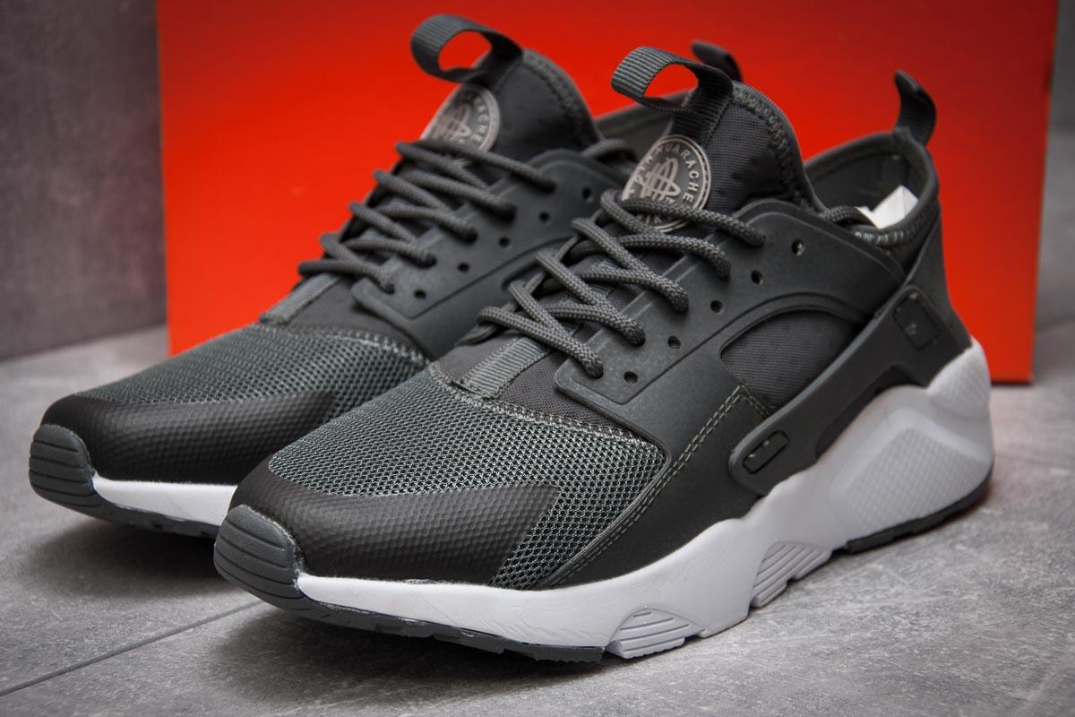 Кроссовки мужские в стиле Nike Air Huarache, серые (12843),  [  43 (по