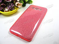 Чехол SMX Fashion Samsung J510H Galaxy J5 2016 (розовый), фото 1