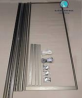 Система из алюминиевых профилей для сборки фасадов дверей шкафа-купе, фото 1
