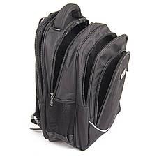 Рюкзак для ноутбука Star Dragon 33х50х22 ткань Карбон Рlain  кc335ч, фото 3