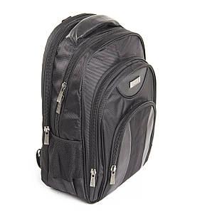 Рюкзак для ноутбука Star Dragon 32х46х14 ткань Карбон Plain, фото 2