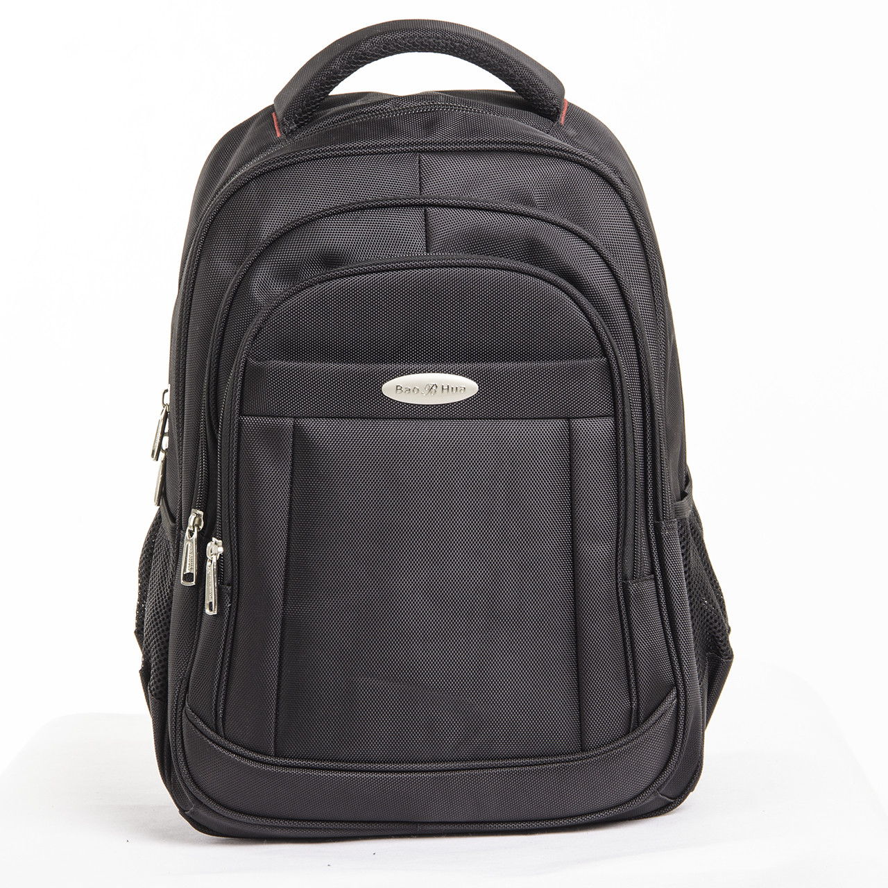 Рюкзак для ноутбука BaoHua 3 отделения 33х46х18 ткань Карбон Plain