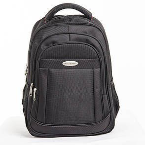 Рюкзак для ноутбука BaoHua 3 отделения 33х46х18 ткань Карбон Plain, фото 2