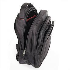 Рюкзак для ноутбука BaoHua 3 отделения 33х46х18 ткань Карбон Plain, фото 3