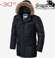 Зимние мужские куртки Braggart Dress Code - 1006#1005 черный, фото 1