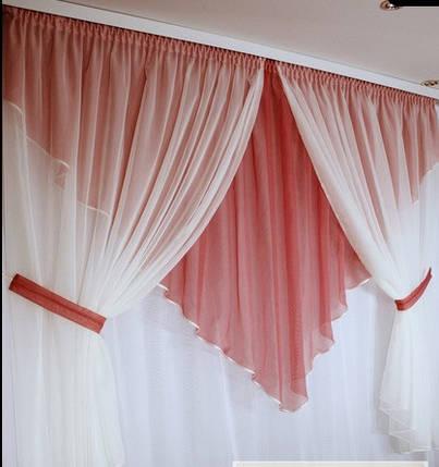 Кухонные шторы Коррида Бордо, комплект, фото 2